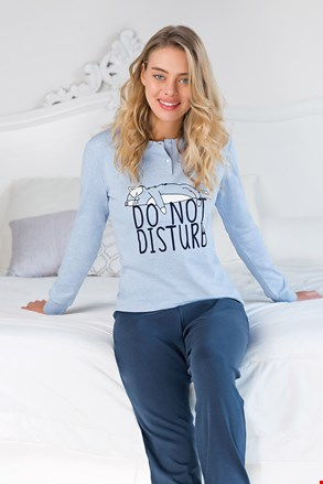 Γυναικεία πυτζάμα Do not disturb