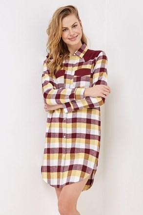 Γυναικείο flannel νυχτικό Ortensia