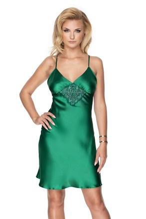 Σατέν νυχτικό πολυτελείας Emerald