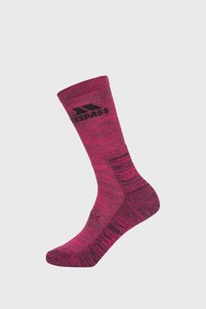 Γυναικείες λιλά κάλτσες Leader Eco