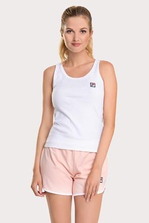 Γυναικείο σετ λευκό με ροζ FILA French terry