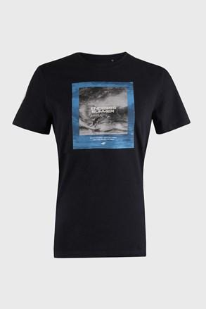 Σκούρο μπλε μπλουζάκι 4F Sea
