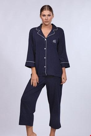 Γυναικεία πιτζάμα Ralph Lauren Navy Dot