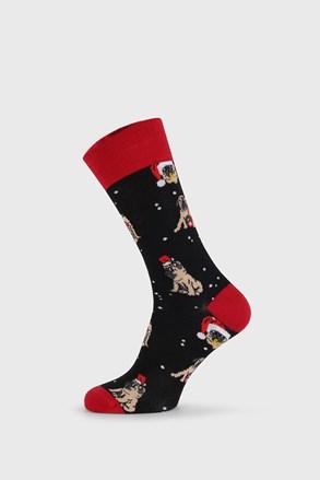 Χριστουγεννιάτικες κάλτσες Pug