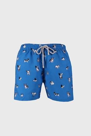 Μαγιό βερμούδα Bulldog μπλε