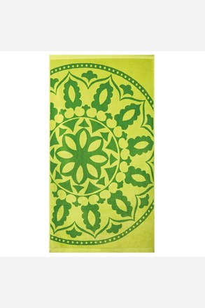 Πετσέτα παραλίας Mandala πράσινη
