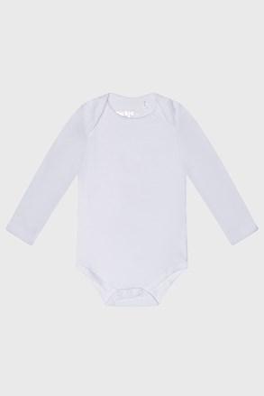 Παιδικό κορμάκι με μακρύ μανίκι Baby λευκό