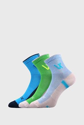 3 PACK αθλητικές κάλτσες VOXX Neonik για αγόρια