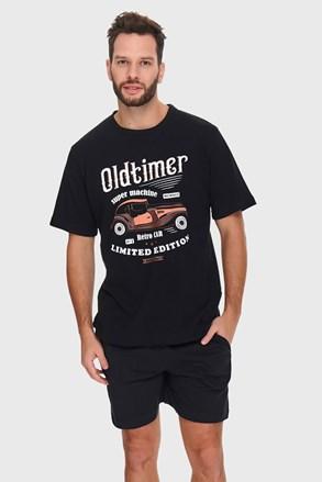 Μαύρη πιτζάμα Oldtimer