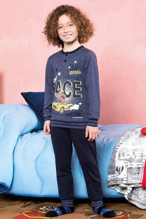 Πυτζάμες για κορίτσια Race μπλε