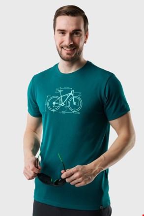 Κοντομάνικη μπλούζα LOAP Mugs πράσινη