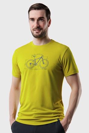 Κοντομάνικη μπλούζα LOAP Mugs πράσινο ανοιχτό