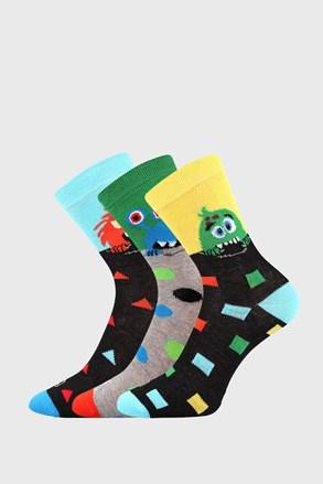 3 PACK παιδικές κάλτσες Ufonek