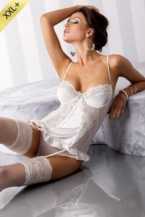 Δαντελένιος κορσές  Blanchet Cream