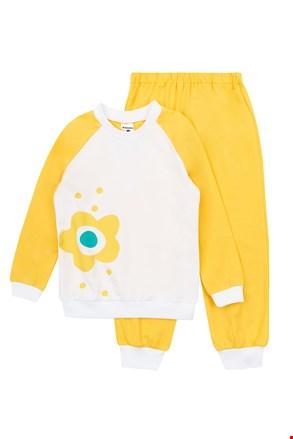 Πιτζάμες για κορίτσια Flower Yellow