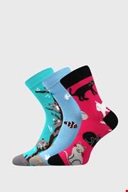 3 PACK κάλτσες για κορίτσια Animals