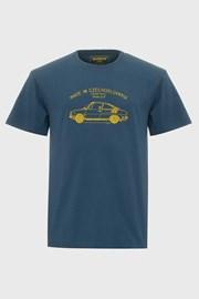 Μπλε μπλουζάκι Bushman Bobstock