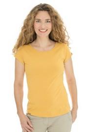 Γυναικείο κίτρινο κοντομάνικο Bushman Natalie II