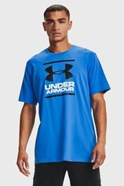 Κοντομάνικη μπλούζα Under Armour Foundation μπλε