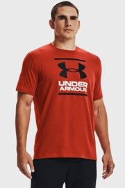 Σκούρο κόκκινο μπλουζάκι Under Armour Foundatio