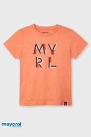 Παιδική μπλούζα Mayoral Apricot