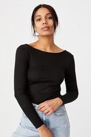 Γυναικείο μαύρο κορμάκι Victoria