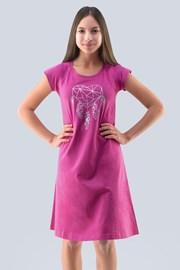 Νυχτικό για κορίτσια Hearts ροζ