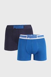 2 PACK μπλε μποξεράκια Puma Placed Logo