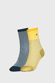 2 PACK γυναικείες κάλτσες Tommy Hilfiger Argyle