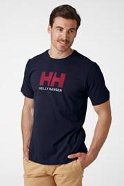 Ανδρικό μπλε μπλουζάκι Helly Hansen