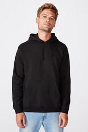 Μαύρο φούτερ Essential Fleece
