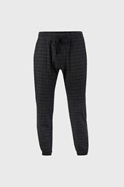 Καρό μαύρο παντελόνι Pj Drake