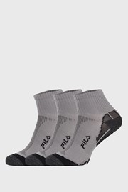 3 PACK γκρι κάλτσες FILA Multisport