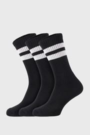 3 PACK μαύρες κάλτσες Active
