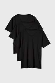 3 PACK μαύρα μπλουζάκια Kane