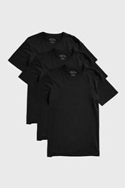 3 PACK μαύρα μπλουζάκια Austin