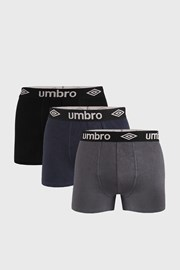 3 PACK μποξεράκι Umbro Organic cotton