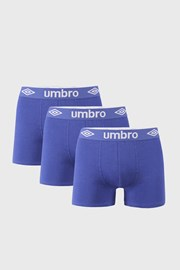3 PACK μπλε μποξεράκια Umbro BIO