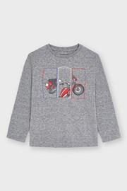 Μπλούζα για αγόρια με μακριά μανίκια Mayoral Positive