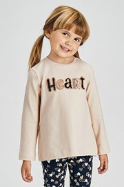 Σετ για κορίτσια κολάν με μπλουζάκι Mayoral Heart