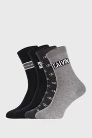 4 PACK γυναικείες κάλτσες Calvin Klein Bronx I