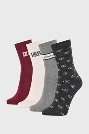 4 PACK γυναικείες κάλτσες Calvin Klein Bronx II