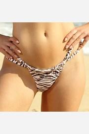 Σλιπ μπικίνι Zebra Thick Strap
