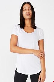 Αθλητική μπλούζα Gym λευκή