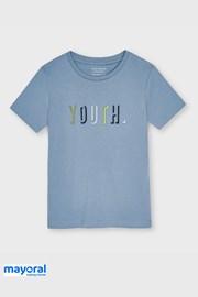 Μπλούζα για αγόρια Mayoral Youth μπλε