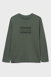 Μπλουζάκι για αγόρια με μακρύ μανίκι Mayoral Teenagers