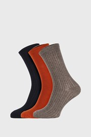 3 PACK παιδικές κάλτσες Colored