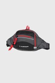 Τσαντάκι μέσης μαύρο με κόκκινο LOAP Tula