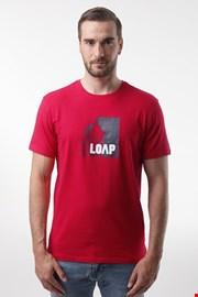 Κόκκινο μπλουζάκι LOAP Alien