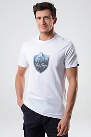 Κοντομάνικη μπλούζα LOAP Alesh λευκή
